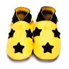 Zapatos Luvia de estrellas amarillo