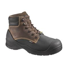 Wolverine Boots Wolverine Torch Comp Toe Brown Boot Style 6 Inch Men Boots W10211