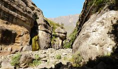 Off the beaten path in the Tugela Gorge, South-Africa! - Along Came An Elephant