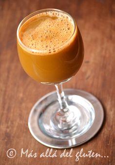 Más allá del gluten...: Extracto de Zanahoria y Naranja (Receta SCD, GFCFSF, Vegana, RAW)