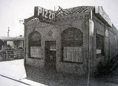 Original Willow Glen Pizza on Willow Street - our favorite pizza in the Old Pictures, Old Photos, Two Way Street, San Jose California, Santa Clara County, Fairmont Hotel, Bank Of America, Local History, Bay Area