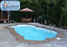 "Cancun : 12'x25' Awesome Pools is located in Apison, Tennessee and builds beautiful fiberglass swimming pools, spas and tanning ledges from Custom Fiberglass Pools. We service South Eastern Tennessee and North Western Georgia.  For more information on how you can have your own ""Awesome"" backyard, give us a call at (423) 615-9554, email us at info@awesomepoolsspas.com or visit www.awesomepoolsspas.com"