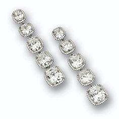 Pair of diamond pendant-earrings, William Goldberg   Lot   Sotheby's