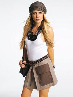 Pocket Mini Skirt 02/2011 #121 – Sewing Patterns | BurdaStyle.com