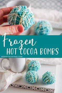 Chocolate Bomb, Hot Chocolate Coffee, Hot Chocolate Gifts, Homemade Hot Chocolate, Hot Chocolate Bars, Hot Chocolate Recipes, Chocolate Filling, Chocolate Cups, Bombe Recipe