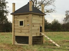 Duck House, Rabbit Hutches, Safe Place, Coops, Poultry, Shed, Home And Garden, Outdoor Structures, Hutch Ideas