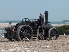 Steam Tractor, Antique Tractors, Steam Engine, Rally, Stationary, Tractor, Trucks