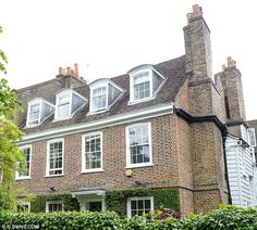 Very des res: Jamie Oliver's new Grade II-listed home in north London is the latest multi-...
