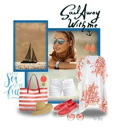 """""""Sail Away With Me"""" by dop37 ❤ liked on Polyvore featuring ONLY, Under One Sky, Oasis, Kendra Scott and Michael Kors"""