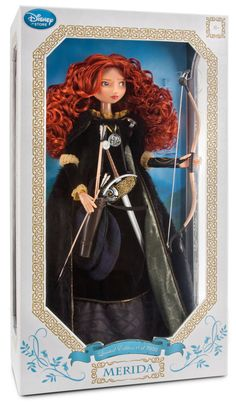 "Limited Edition Merida Doll -- 18"" H -  No. You're never to young to like dolls... especially Disney dolls ;)."