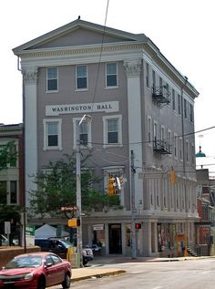 Washington Hall, Southwest corner of S. George St. & King St., York, PA. Used as a hospital for wounded Confederate soldiers from the Battle of Gettysburg