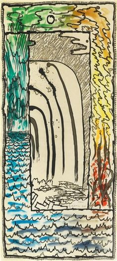 Artwork by Pierre Alechinsky, Prisma, Made of Colour aquatint etching Abstract Expressionism, Abstract Art, Pop Art, Modern Art, Contemporary Art, Art Postal, Ouvrages D'art, Keith Haring, Outsider Art
