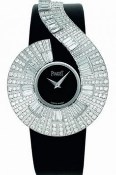 Diamond Watches Ideas : Piaget - Watches Topia - Watches: Best Lists, Trends & the Latest Styles Black Jewelry, High Jewelry, Jewelry Accessories, Amazing Watches, Beautiful Watches, Stylish Watches, Luxury Watches, Unique Watches, Ring Armband