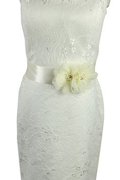 Lemandy Handmade Simple Bridal Wedding Dress Ribbon Sash Amazoncouk Dp B01LX84X21 Refcm Sw R Pi X KlxbHN3KJ1C