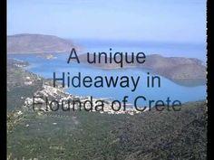 Villa Hotel with tennis court in Elounda Crete Greece