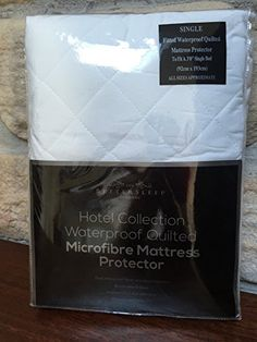 The Bettersleep Company Brand Waterproof Quilted Microfibre Mattress Protectors Single Bed- Hotel Quality Anti Dustmite, Waterproof, Absorbent, Breathable & Fully Fitted