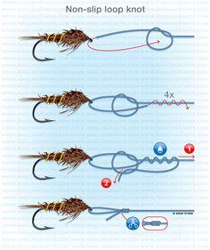 Non-slip loop knot fishing fishing fishing tips fishing tying Ice fishing fishing fishing fishing Fishing Hook Knots, Fly Fishing Tips, Fishing Rigs, Crappie Fishing, Gone Fishing, Best Fishing, Carp Fishing, Saltwater Fishing, Fishing Vest