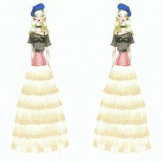 Wonderland (27)  Fashion sketch