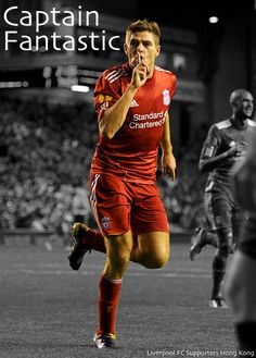 I still can't believe he's leaving... The man who got me to support LFC. A true legend. You'll never walk alone, Stevie G.
