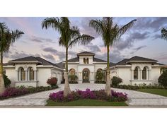 Spanish Revival House Plan with 4386 Square Feet and 4 Bedrooms from Dream Home Source | House Plan Code DHSW077807