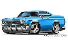 Gallery - Category: CHEVROLET Chevy Chevelle Ss, Chevy Impala, Car Drawing Pencil, Cartoon Car Drawing, Cartoon Art, Chevrolet Bel Air, Weird Cars, Cool Cars, Dodge Charger