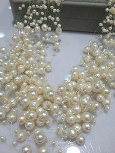 7eaa933962ed Collar de perlas de boda de 30 capas collar de perlas flotantes de agua  dulce collar de diseño de moda para mujeres joyería cultura