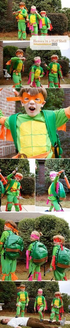 ghosts of halloweens past  Ninja Turtles