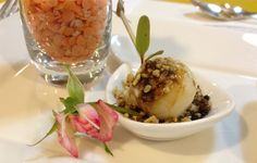 Vivi Barros catering buffet lychees and litchis stuffed with gorgonzola mousse