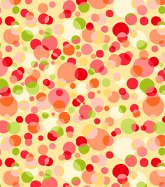 Tutti Fruiti Embossed Basic Fabric Free Dots Yellow, , hi-res