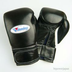 72995c2bf44d F S Winning Boxing Gloves Professional type Velcro Black from Japan