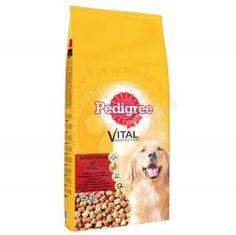 Pedigree Biftekli ve Kümes Hayvanlı Köpek Maması 15 Kg+Pedigree Ödül
