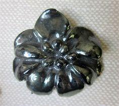 Large Realistic British Bakelite Flower by OneWomanRepurposed