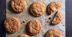 5 famous cookie recipes to make now that its fall Ginger Snaps, Chocolate, Christmas Baking, Sweet Recipes, Cookie Recipes, Food To Make, Sweets, Desserts, Fall