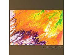 "Summer Dreaming, liquid fluid paint MODERN ORIGINAL PAINTINGS contemporary art decor Abstract "" x "" Contemporary Paintings, Art Decor, Original Paintings, The Originals, Abstract, Modern, Summer, Summary, Trendy Tree"