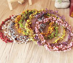 Aliexpress.com : Buy Artificial wreath garishness DIY wedding garland halo beach floral hoop prop  free shipping 8 colors 40cm long bendable  from Reliable silk orchid suppliers on Lore 's Decoration Flowers Store. $33.99