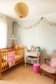 nursery for a little girl (and boys who like pink) #nursery