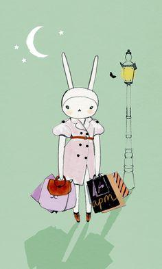 fifi lapin - the world's most fashionable rabbit