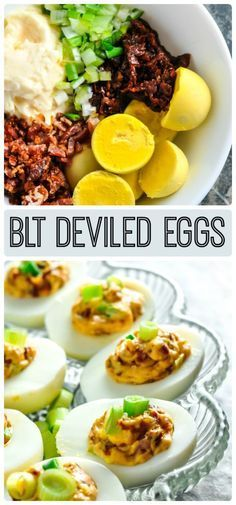 BLT Deviled Eggs Recipe  May have to tweak a little