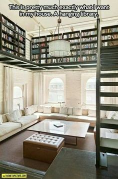 YES! Dream library!