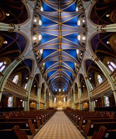 Notre Dame Cathedral Basilica (Ottawa) by Roland Shainidze on 500px