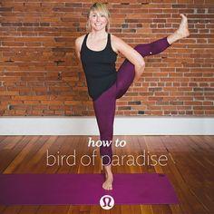 lululemon | how to bird of paraside (in 8 steps)