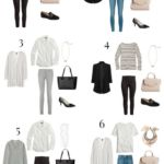 9 Pieces / 10 Outfits (French Minimalist Style)