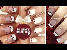 DIY Easy Cute Christmas Nail Polish Art Designs For Beginners #16 - The Ultimate Guide #3 - YouTube