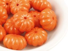Hey, I found this really awesome Etsy listing at https://www.etsy.com/listing/199555784/12-orange-pumpkin-beads-15mm-x-9mm