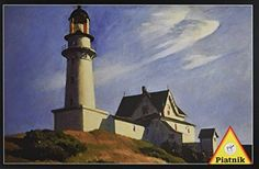 Piatnik Lighthouse 1000 Piece Edward Hopper Jigsaw Puzzle