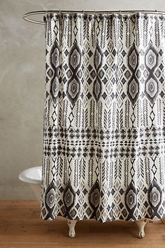 Ongamira Shower Curtain #anthropologie