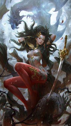 dragon lady by KilartDev.deviantart.com on @deviantART
