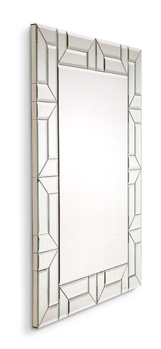 Mirror Inspiration, Christopher Guy, Luxury Mirror, Stained Glass Birds, Glass Partition, Beveled Mirror, Glass Design, Furniture, Decorative Mirrors