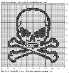 """{""""i"""":""""imgs\/f6c0b99214a7dc43b0f4b637479dcfb5.jpg"""",""""w"""":""""300″,""""h"""":""""320″,""""l"""":""""http:\/\/stylish-crochet.blogspot.com\/2008\/11\/filet-crochet-skull-crossbones.html""""}"""