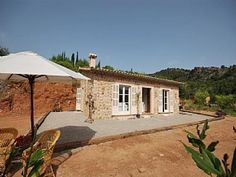 mallorca alquiler Villas, Small Farmhouse Plans, Mexican, Cottage, Mansions, Stone, Architecture, House Styles, Projects